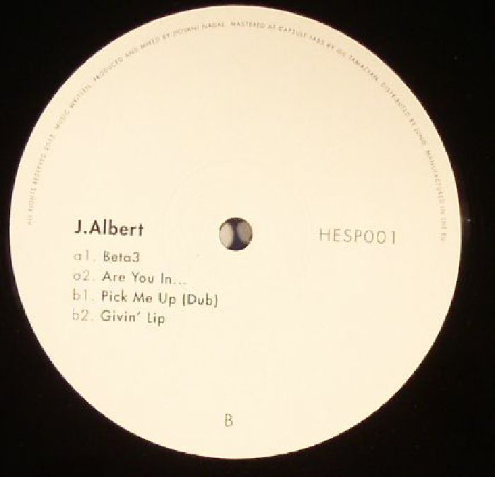 J. Albert – Emergency Cosmetics EP [HESP 001]